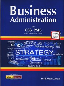 Business Administration By Syed Ahsan Zohaib JWT