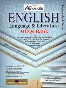 English Language & Literature MCQs Bank By Moazzam Hashmi & Arshad Saeed Advanced