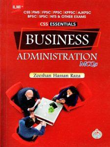Business Administration MCQs By Zeeshan Hassan Raza ILMI