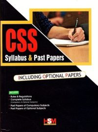 CSS Syllabus and Past Papers HSM Publishers