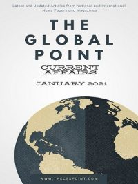 Monthly Global Point Current Affairs January 2021