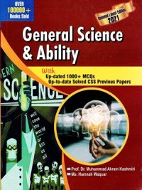 General Science & Ability By Dr. Muhammad Akram Kashmiri Ah Publishers