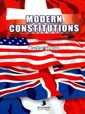 Modern Constitutions By Mazhar ul Haq Bookland
