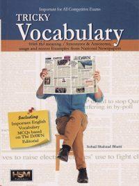 Tricky Vocabulary By Sohail Shahzad Bhatti HSM