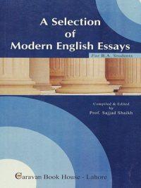A Selection of Modern English Essays By Sajjad Shaikh Caravan