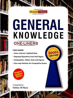 General Knowledge One Liners By Fatima Ali Raza JWT