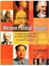 A Study of Western Political Thoughts By Dr Sultan Khan