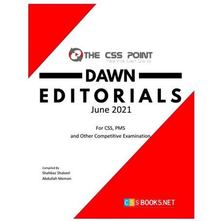 Monthly DAWN Editorials June 2021