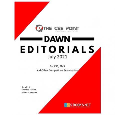 Monthly DAWN Editorials July 2021