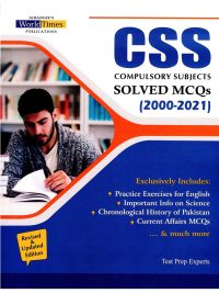 CSS Solved Compulsory MCQs from 2000 to 2021 JWT