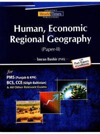 Human, Economic, and Regional Geography PMS By Imran Bashir