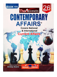 Contemporary Affairs Book 111 By Imtiaz Shahid Advanced Publishers
