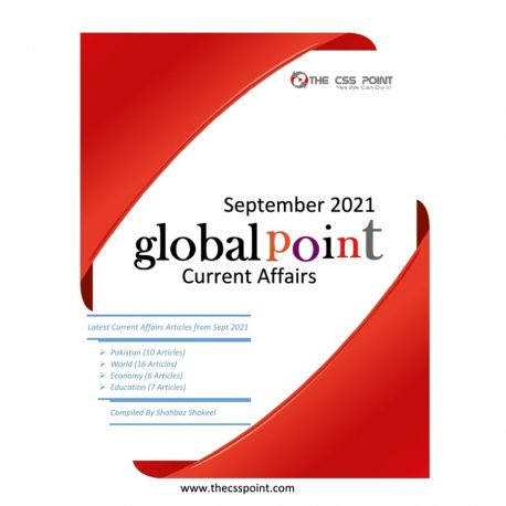 Monthly Global Point Current Affairs September 2021